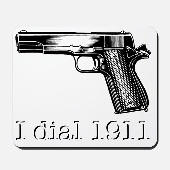 Dial 1911dark Mousepad