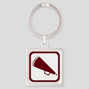 j0383900maroon Square Keychain