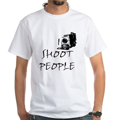 shot two White T-Shirt
