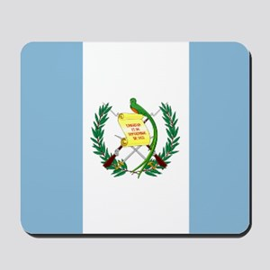 Guatemalan flag Mousepad