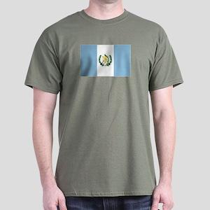 Guatemalan flag Dark T-Shirt