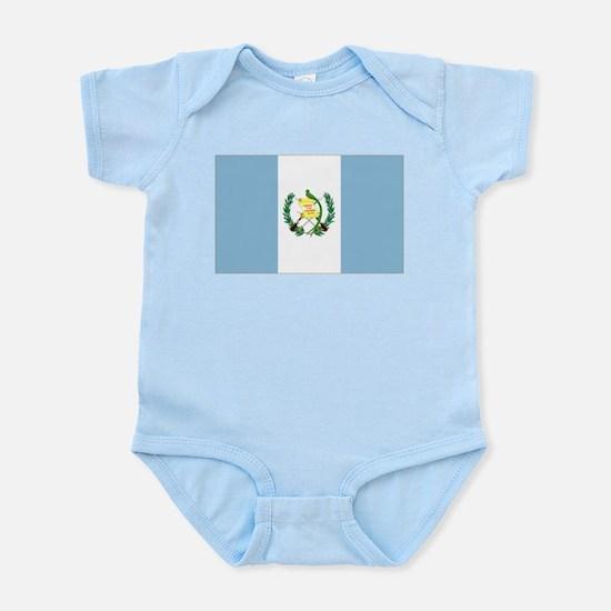 Guatemalan flag Infant Bodysuit