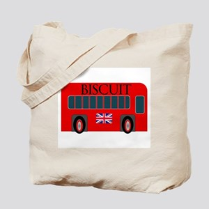 Jolly Red Ride Biscuit Tote Bag