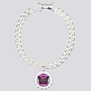 Crohns-Disease-Butterfly Charm Bracelet, One Charm