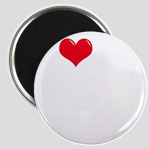 I-Love-My-Doodle-dark Magnet