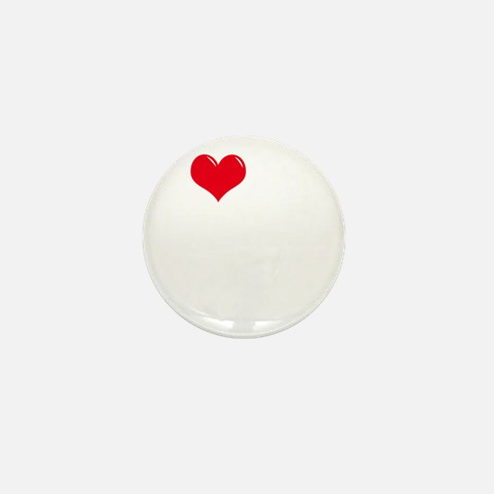 I-Love-My-Doodle-dark Mini Button
