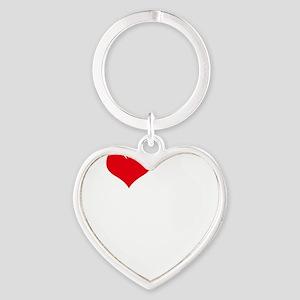 I-Love-My-Doodle-dark Heart Keychain