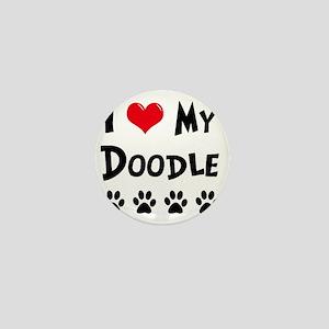 I-Love-My-Doodle Mini Button