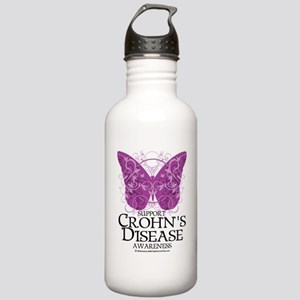 Crohns-Disease-Butterf Stainless Water Bottle 1.0L