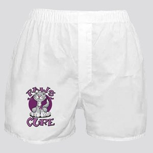 Paws-for-the-Cure-Cat-Crohns-Disease- Boxer Shorts