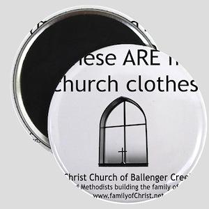 CUMC_churchclothes2_10x10_BW Magnet
