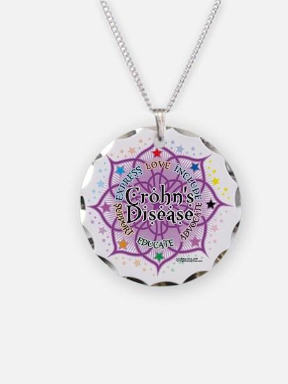 Crohns-Disease-Lotus Necklace