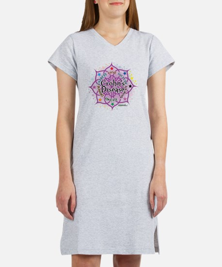Crohns-Disease-Lotus Women's Nightshirt
