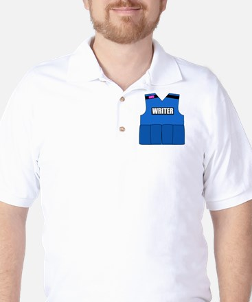 writerbutton Golf Shirt