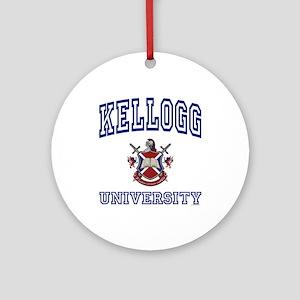 KELLOGG University Ornament (Round)
