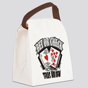 PLAYING CARDS BET OR CHECK TEXAS  Canvas Lunch Bag