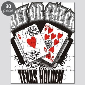 PLAYING CARDS BET OR CHECK TEXAS HOLDEM Puzzle
