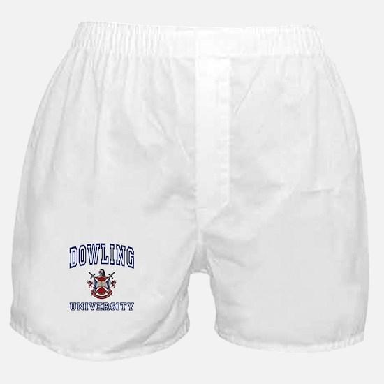 DOWLING University Boxer Shorts