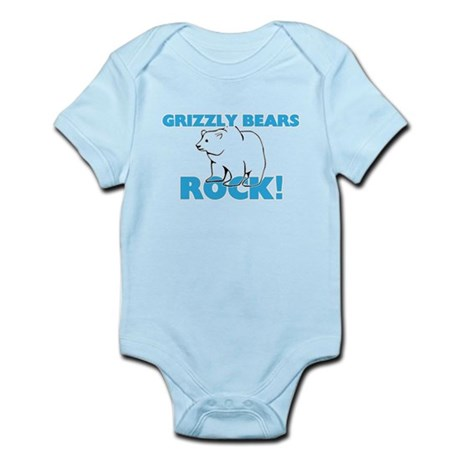 Grizzly Bears rock! Body Suit