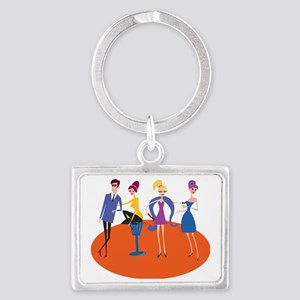 The Cool Gang Landscape Keychain