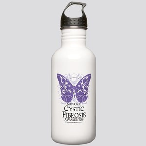 Cystic-Fibrosis-Butter Stainless Water Bottle 1.0L