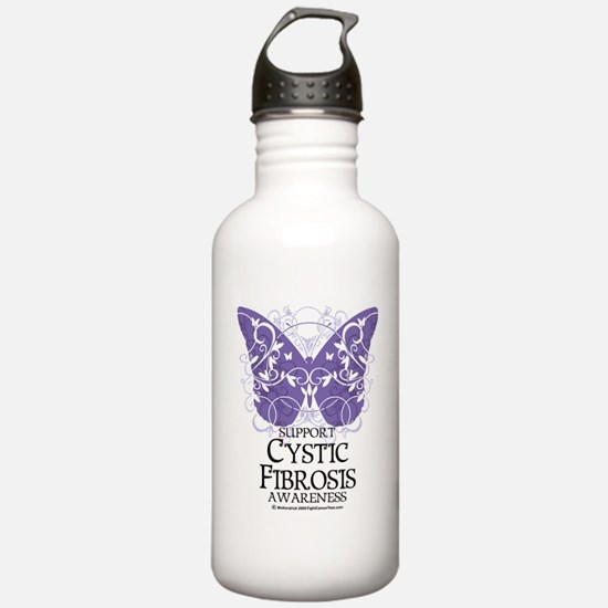 Cystic-Fibrosis-Butter Sports Water Bottle