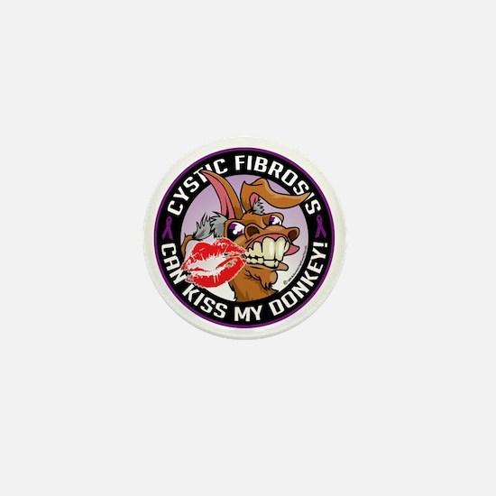 Cystic-Fibrosis-Kiss-My-Ass Mini Button