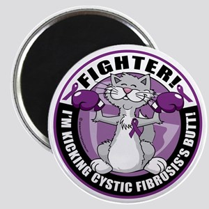 Cystic-Fibrosis-Cat-Fighter Magnet
