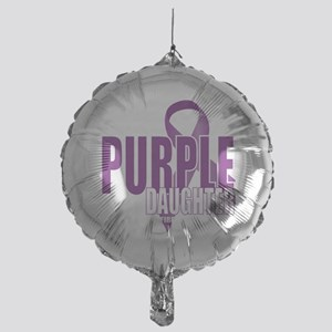 Cystic-Fibrosis-Purple-for-DAUGHTER- Mylar Balloon