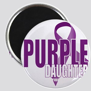 Cystic-Fibrosis-Purple-for-DAUGHTER-blk Magnet