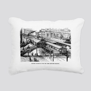 ny battery stn Rectangular Canvas Pillow