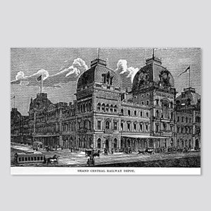 ny grand centrak Postcards (Package of 8)