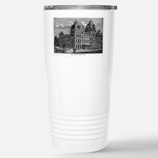 ny grand centrak Stainless Steel Travel Mug