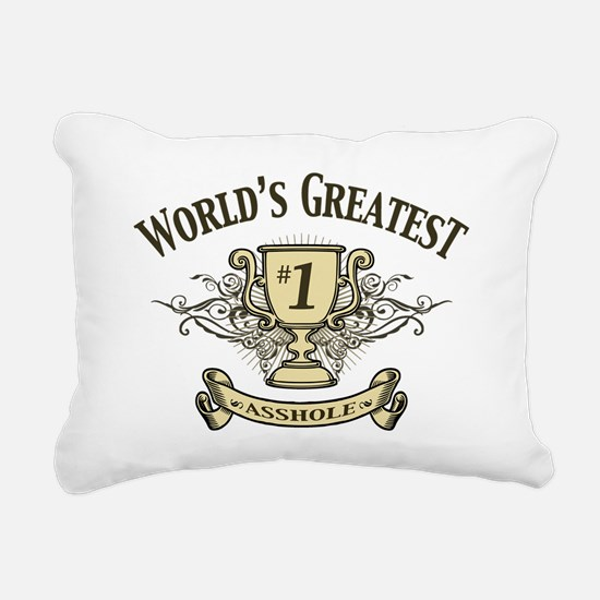 ahole-trophy-LTT Rectangular Canvas Pillow