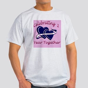 celebrating heart 1pink Light T-Shirt