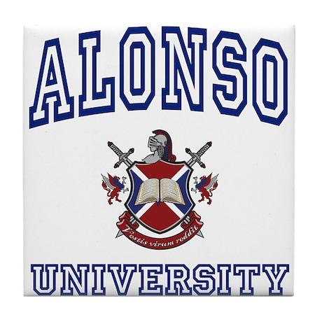 ALONSO University Tile Coaster
