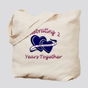 celebrating heart 2 Tote Bag