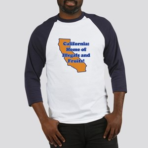 Home of illegals and fruit Baseball Jersey