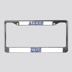 AIKEN University License Plate Frame