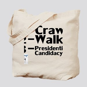 CrawlWalkPresidential Tote Bag