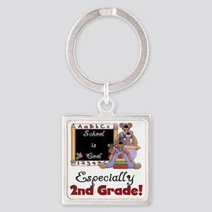 ZSCHsecond Square Keychain