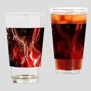 Fire work Drinking Glass