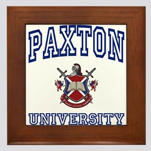 PAXTON University Framed Tile