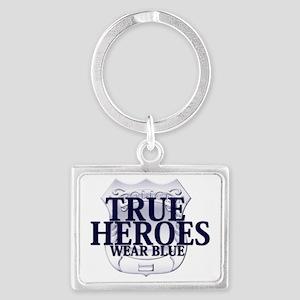 true heroes Landscape Keychain
