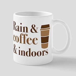 Rain & Coffee & indoors Mugs