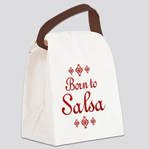 salsa Canvas Lunch Bag