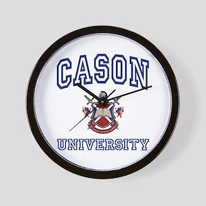 CASON University Wall Clock