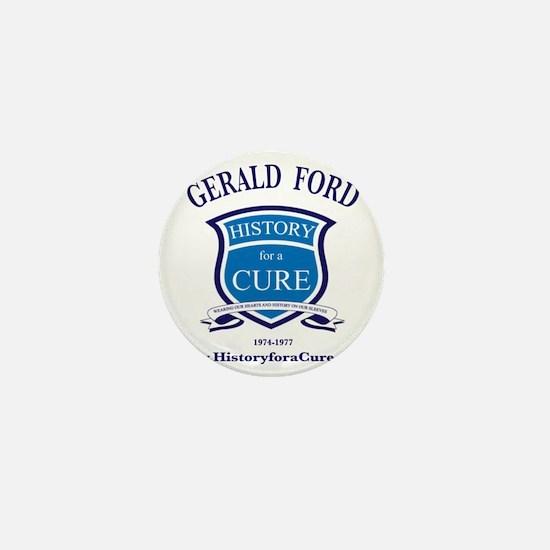 President Gerald FORD 38 TRUMAN dark s Mini Button