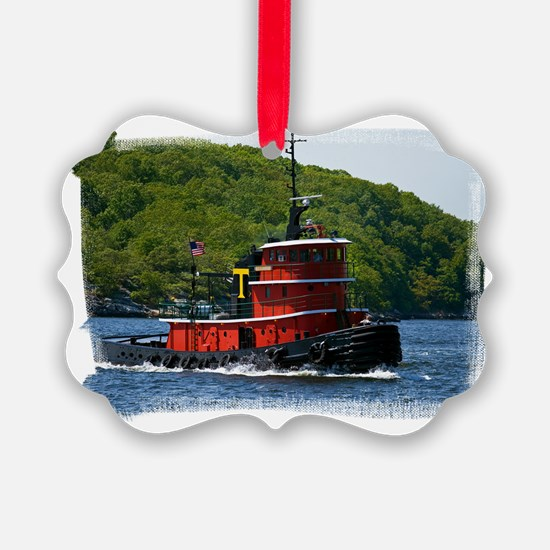 (16) Sub Tug Ornament