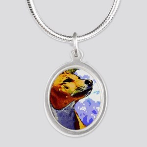 kiwione 10 Silver Oval Necklace